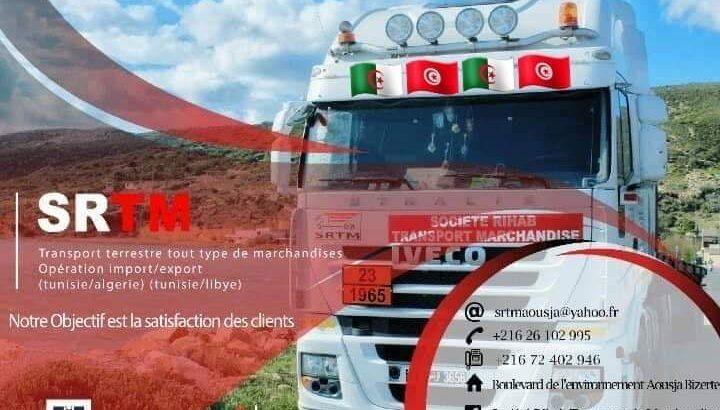 SOCIETE RIHAB Transport terrestre Tunisie-Algérie-Libye