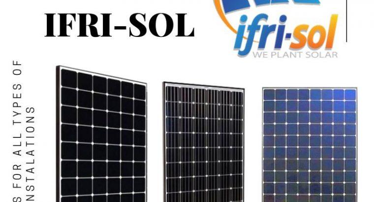 IFRISOL EST UN FABRICANT DES PANNEAUX SOLAIRE