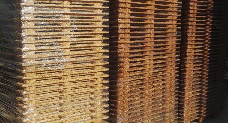 Palette de bois Moulé avec bois compressé