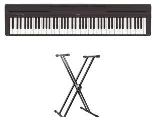Pack Yamaha P-45 piano numérique avec 88 touches –