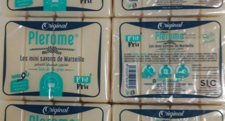 Les mini savons de Marseille PLEROME 4*100gr
