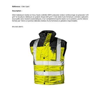 Equipement de protection individuel (EPI)