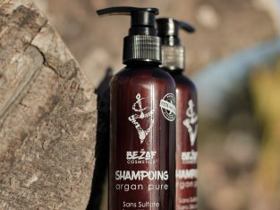 Shampoo d'argan naturel 0% sulfate/parabene,silico