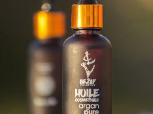 Huile cosmétique d'argan pure 100%Bio et cértifiée