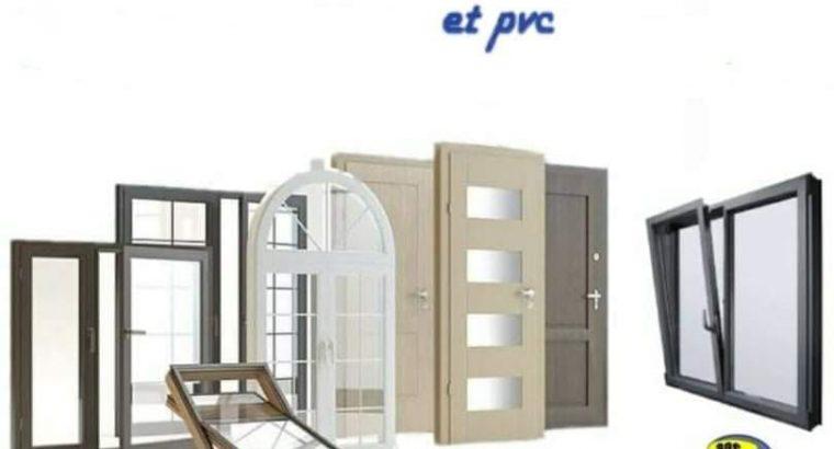 Menuiserie aluminium et PVC