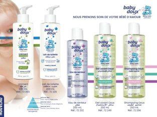 Gel lavant BABY DOUX