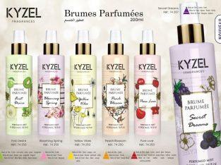 Brumes parfumées KYZEL