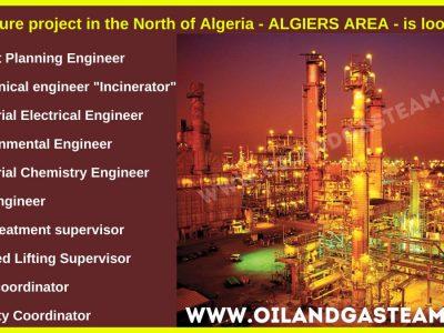 التوظيف في النفط والغاز