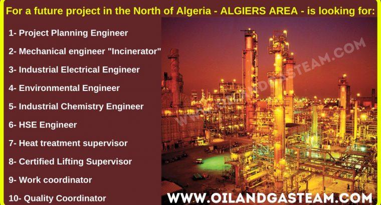 Recrutement dans le pétrole et le gaz